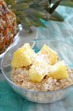 Pi�a Colada Oatmeal! Happy Cinco De Mayo!