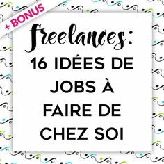 Work From Home: 20 Ideas to Become Independent Web Freelancer , Job A Domicile, How To Find Out, How To Make Money, Miracle Morning, Business Entrepreneur, Motivation, Finance Tips, Marketing, Business Planning