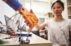 3ders.org - Student 3D prints temperature-sensitive prosthetic that can help the disabled to regain senses   3D Printer News & 3D Printing News