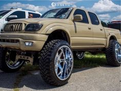 2002 Toyota Tacoma 24x14 -76mm Dropstars 655c 2002 Toyota Tacoma, Monster Trucks, Vehicles, Cars, Vehicle