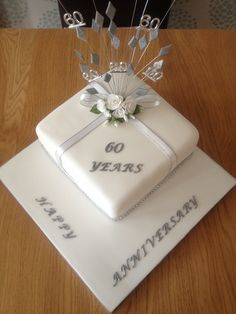 Ideas For 60th Anniversary Cakes Bing Images My