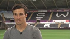 """""""He used to be a rock at Chelsea Football Club"""" - Swansea City Football Club's Jack Cork reveals his #PL Idol"""