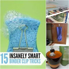 Help keep your house organized with these insanely smart binder clip tricks