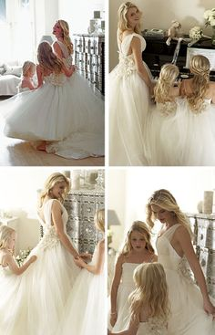 Matching Flower Girl Dresses to Bridal Gowns - Belle the Magazine . The Wedding Blog For The Sophisticated Bride