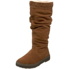 BEARPAW Women's Camden Knee-High Boot - these look cozy