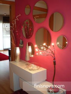 Decoraci n con espejos on pinterest - Decoracion con espejos ...