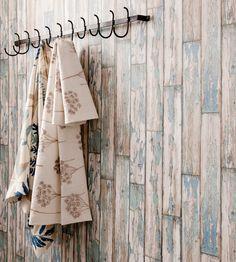 Rustic Living   Peeling Planks Wallpaper by Clarke & Clarke   Jane Clayton
