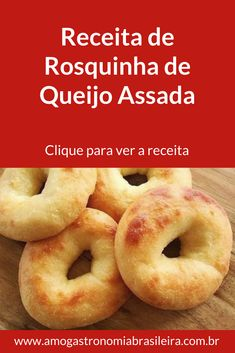 Donut Recipes, Bread Recipes, Cooking Recipes, Brazillian Food, Cheese Snacks, Baked Cheese, Appetizers For Party, Finger Foods, Holiday Recipes