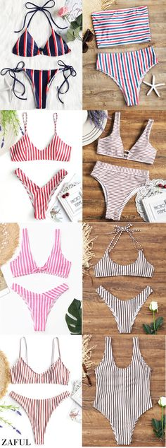 Up to 80% OFF! Striped Tube Top With High Cut Bikini Bottoms. #Zaful #Swimwear #Bikinis zaful,zaful outfits,zaful dresses,spring outfits,summer dresses,easter,super bowl,st patrick's day,cute,casual,fashion,style,bathing suit,swimsuits,one pieces,swimwear,bikini set,bikini,one piece swimwear,beach outfit,swimwear cover ups,high waisted swimsuit,tankini,high cut one piece swimsuit,high waisted swimsuit,swimwear modest,swimsuit modest,cover ups @zaful Extra 10% OFF Code:ZF2017