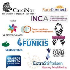 CarciNor er anerkjent. En anerkjent  pasientorganisasjon både nasjonalt og internasjonalt, som arbeider for kreftpasienter og deres pårørende. CarciNor arbeider for å bedre livsvilkår for personer med NET-kreft og deres pårørende, og jobber for deres interesser. http://www.carcinor.no/index.php/om-oss/carcinor-er-anerkjent