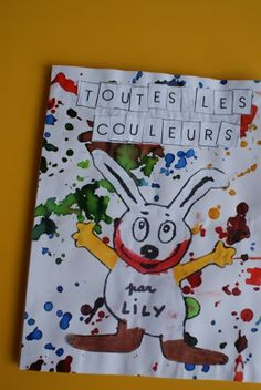 """Toutes les couleurs"" : notre livre (Tout petits et Petits) - Ecole Bellevue à Gap Charles Perrault, Petite Section, Preschool Colors, Color Activities, French Language, Book Crafts, Kindergarten, Lily, Education"