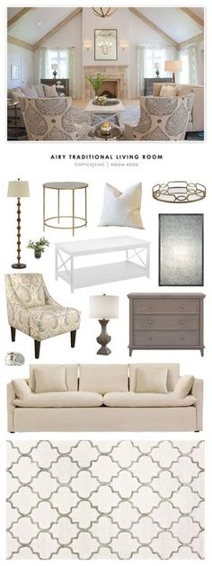 TOTAL | $1,945 sofa $847 | chairs (ea) $350 | bench $329coffee table $230 | rug $252 | wire cloche $196chandelier $200 | table lamp $125 | throw $19 This week's winning room redo is soft, cozy, and ai More