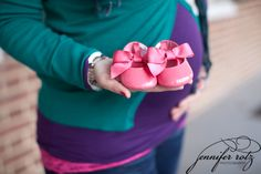 baby shoes maternity photo - Google Search