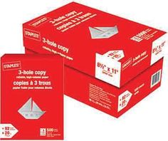 Staples®. has the Staples® Copy Paper, 20 lb., 8-1/2 x 11, Case you need for home office or business. Shop our great selection of Copy / Multipurpose Paper, Copy Paper / Printer Paper, Copy Paper / Printer Paper, Paper / Notebooks / Post-it® an