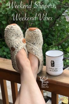 Handmade wooden buttons. Hand cut & sewn real leather soles. A modern feel & fit. Weekend Slippers are a perfect gift for yourself (or someone else!). Make And Do Crew, Teacher Wardrobe, Teacher Fashion, Types Of Buttons, Teacher Style, Best Wear, Crochet Slippers, Getting Cozy, Handmade Wooden