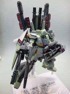 "Full-Armor Stark Jegan by ""noyoung"". #Gundam #GunPla"