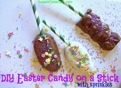 DIY Easter Treats on a Stick