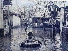 Zeytinburnu'nda Sel, 1960 #istanlook