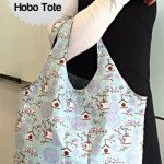 Reversible Hobo Tote with Free Pattern. Plus More Free Patterns Here: http://thestitchingscientist.com/free-sewing-patterns
