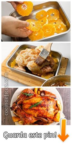 pollo a la naranja y miel al horno Food From Different Countries, Wine Recipes, Cooking Recipes, Peruvian Dishes, Chicken Recepies, Salty Foods, Creole Recipes, Food Humor, Tasty Dishes