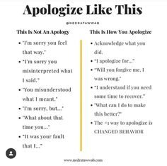 {You don't have to see anything wrong about what you did to see that you hurt someone.}  The biggest error people make in… Relationship Therapy, Leo Relationship, Free Your Mind, Coaching, Mental And Emotional Health, Emotional Healing, Self Care Activities, How To Apologize, Self Improvement Tips