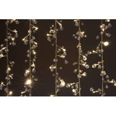 Crystal Chic LED Light Curtain : 264 LED Lights