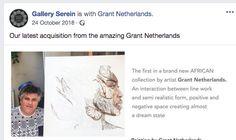 Art by Grant Netherlands Artist Grants, Netherlands, African, Positivity, The Nederlands, The Netherlands, Holland, Optimism