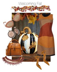 """""""Welcoming Fall"""" by tonhr on Polyvore featuring MacKenzie-Childs, Proenza Schouler, Aquazzura, Karen Walker and Nearly Natural"""