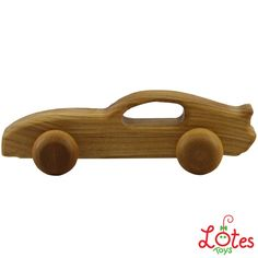Wooden car by Lotes Toys