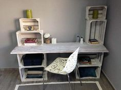 recycled pallets desk