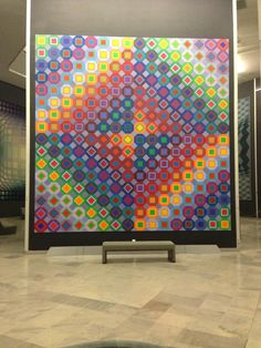 Victor Vasarely, Fondation Vasarely, Aix-en-Provence, South of France, by yourguideboba.com