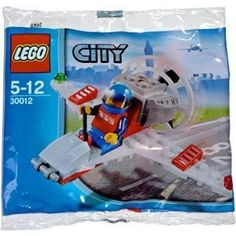 LEGO City Mini Figure Set #30012 Mini Airplane Bagged by LEGO. $13.99
