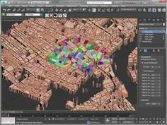 Maproom plugs in CyberCity 3D cities to 3DS Max - CGPress