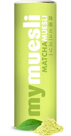 Matcha muesli by #mymuesli #cereals