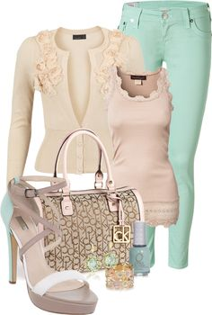 """Mint"" by happygirljlc on Polyvore"