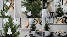 Domácí modurit — VERU HARNOL Christmas Stairs, Winter Christmas, Home Accessories, Diy And Crafts, Interior Decorating, Table Decorations, Simple, Handmade, Painting