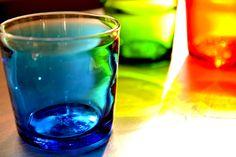 Studio...備品/琉球ガラス/グラス3色 Okinawa Japan, Glass Design, Cool Kitchens, Shot Glass, Glass Art, Tropical, Japanese, Tableware, Grass
