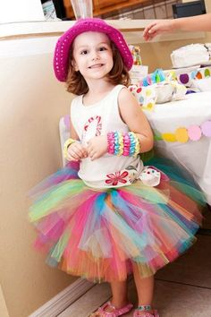 Birthday Rainbow Girls Tutu Skirt by PoshBabyStore.com !!! Maddie will so have this skirt to wear for her bday ;)