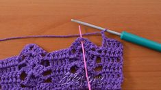 The previous row is knitted in the same way as the 3 rows after a row of crochet stitches. 4 SSN, 2 VP, shell, 2 VP, 5 SSN ...