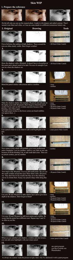 Skin tutorial by Svera.deviantart.com on @deviantART