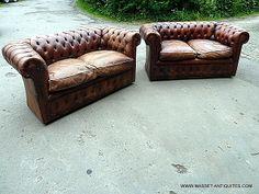 Interior design | decoration | home decor | furniture | CANAPES CHESTERFIELD