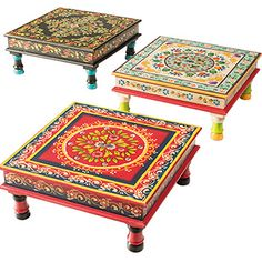 Indian Bajot Coffee Table
