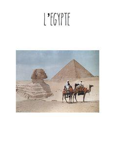 RESSOURCES - Dossier sur l'Egypte à télécharger gratuitement de Petits homeschoolers PDF