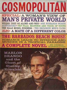 May 1961 cover with the late Marlon Brando