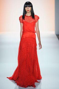 vestido rojo de jenny packham
