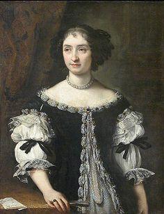 Carlo MARATTA Camerano, 1625 – Rome, 1713  Portrait of Maria Maddalena Rospigliosi (1645–1695) c. 1664. Louvre