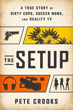 From Lifestyle Reporter to Something More Serious: Pete Crooks Dishes on Lying PIs and Dirty Cops in 'The Setup,' reviewed on Kalireads.com.
