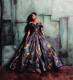 blondiepoison:  Samira Wiley by Brad Walsh for Christian Siriano's Fall 2015 Campaign   BGKI - the #1 website to view fashionable & stylish black girls shopBGKI today
