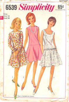 Simplicity 6539 #sewingpatterns