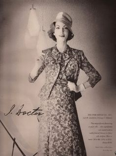 I. Doctor Fashion Advertisement 1958